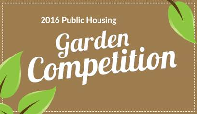 The public housing garden competition is now open